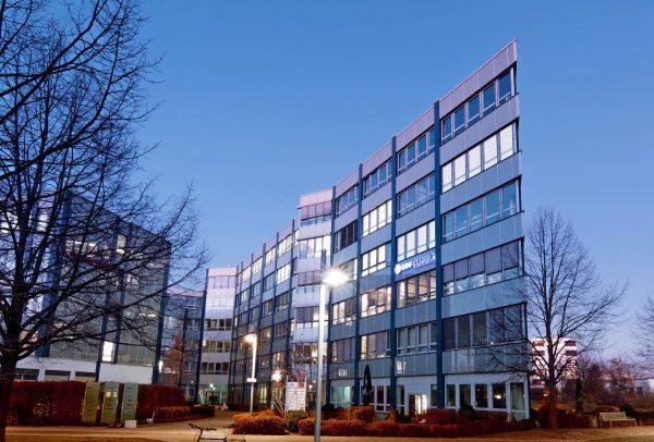 modernes Geschäftsgebäude